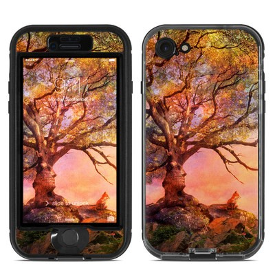 Lifeproof iPhone 7 Nuud Case Skin - Fox Sunset