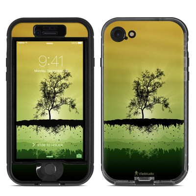 Lifeproof iPhone 7 Nuud Case Skin - Flying Tree Amber