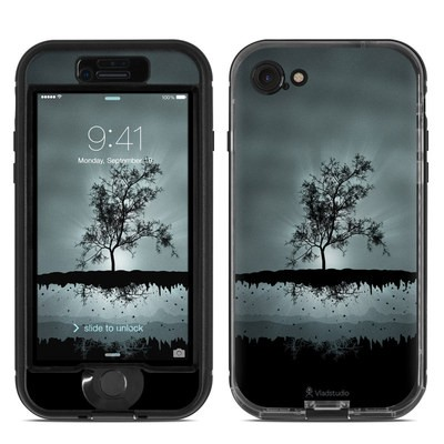 Lifeproof iPhone 7 Nuud Case Skin - Flying Tree Black