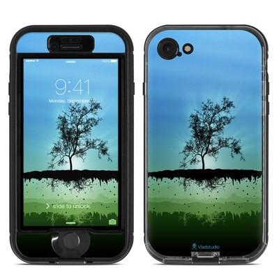 Lifeproof iPhone 7 Nuud Case Skin - Flying Tree Blue