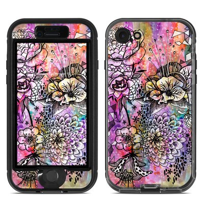 Lifeproof iPhone 7 Nuud Case Skin - Hot House Flowers