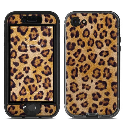 Lifeproof iPhone 7 Nuud Case Skin - Leopard Spots