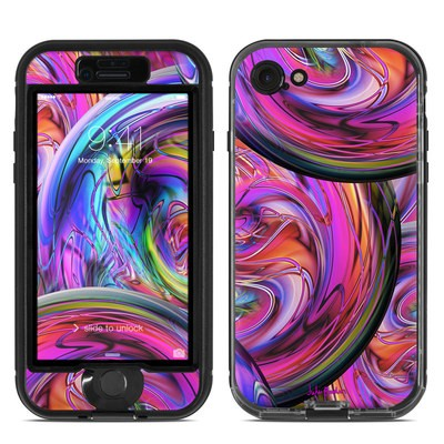 Lifeproof iPhone 7 Nuud Case Skin - Marbles