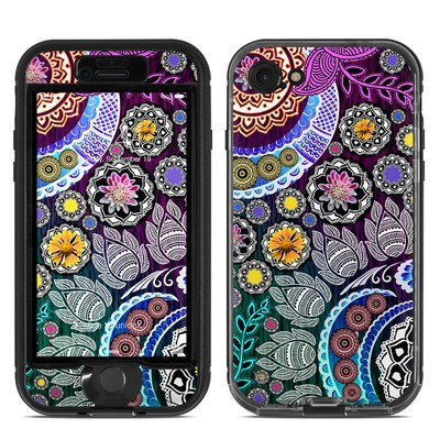 Lifeproof iPhone 7 Nuud Case Skin - Mehndi Garden