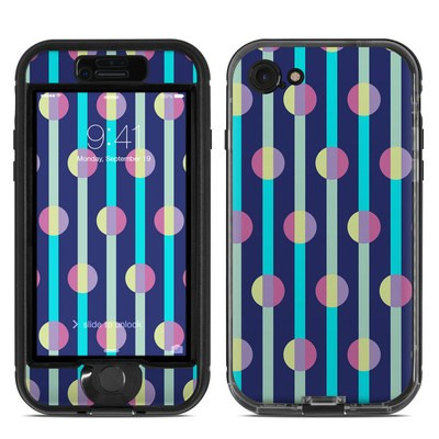 Lifeproof iPhone 7 Nuud Case Skin - Mod Stripe