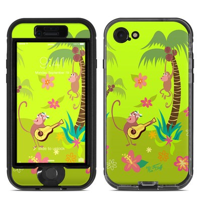 Lifeproof iPhone 7 Nuud Case Skin - Monkey Melody