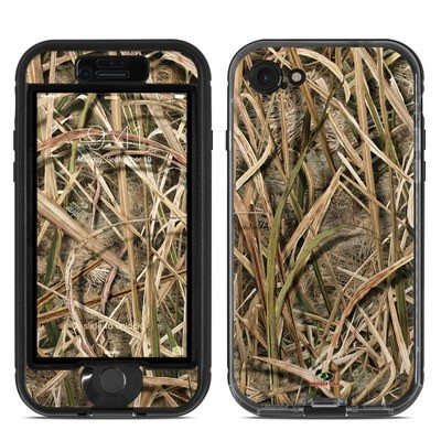Lifeproof iPhone 7 Nuud Case Skin - Shadow Grass Blades