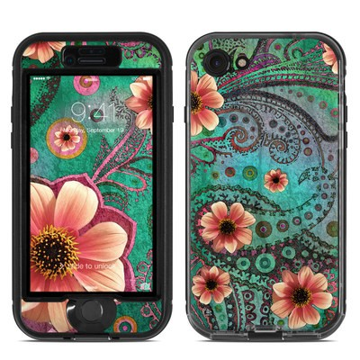 Lifeproof iPhone 7 Nuud Case Skin - Paisley Paradise