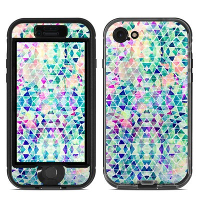 Lifeproof iPhone 7 Nuud Case Skin - Pastel Triangle