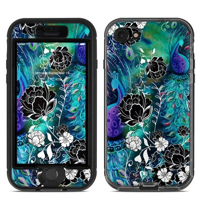 Lifeproof iPhone 7 Nuud Case Skin - Peacock Garden