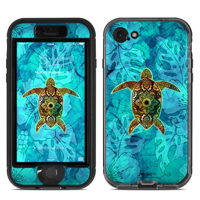 Lifeproof iPhone 7 Nuud Case Skin - Sacred Honu