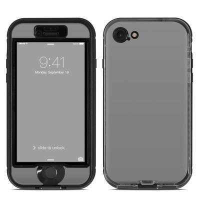 Lifeproof iPhone 7 Nuud Case Skin - Solid State Grey