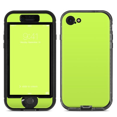 Lifeproof iPhone 7 Nuud Case Skin - Solid State Lime