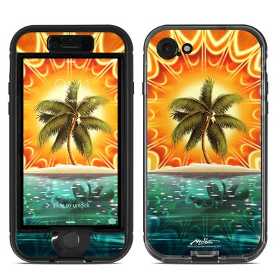 Lifeproof iPhone 7 Nuud Case Skin - Sundala Tropic
