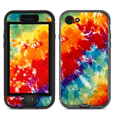 Lifeproof iPhone 7 Nuud Case Skin - Tie Dyed