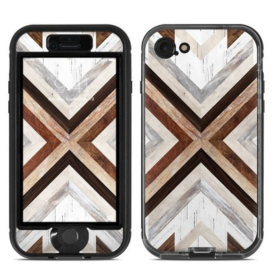 Lifeproof iPhone 7 Nuud Case Skin - Timber