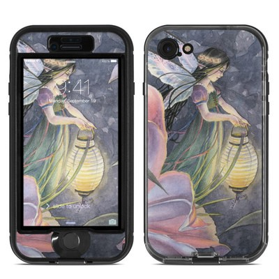 Lifeproof iPhone 7 Nuud Case Skin - Twilight Lilies