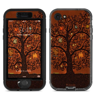 Lifeproof iPhone 7 Nuud Case Skin - Tree Of Books