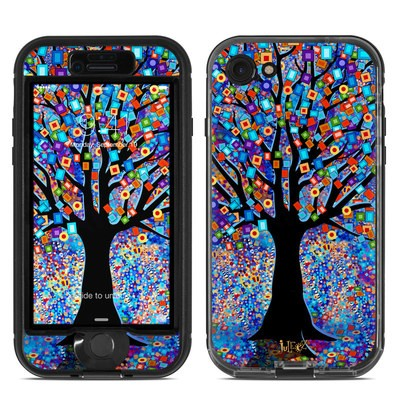 Lifeproof iPhone 7 Nuud Case Skin - Tree Carnival