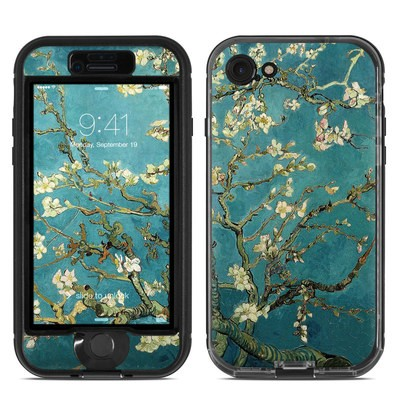 Lifeproof iPhone 7 Nuud Case Skin - Blossoming Almond Tree