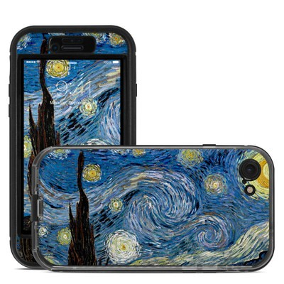 Lifeproof iPhone 7 Nuud Case Skin - Starry Night