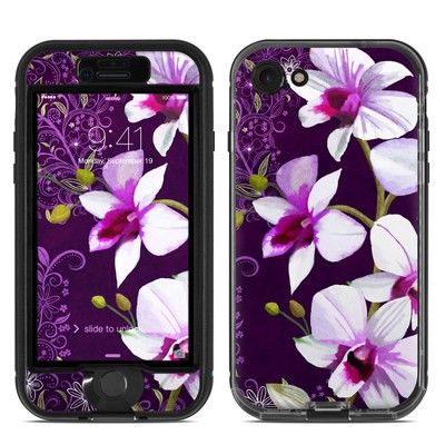 Lifeproof iPhone 7 Nuud Case Skin - Violet Worlds