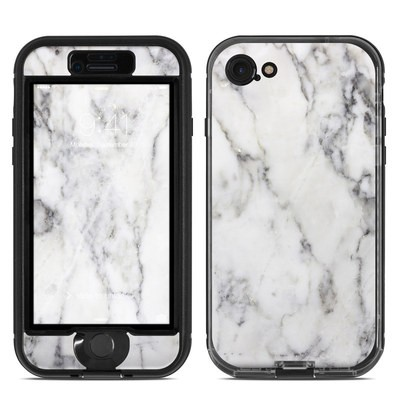 Lifeproof iPhone 7 Nuud Case Skin - White Marble