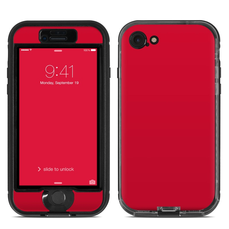 promo code bb230 e4e51 Lifeproof iPhone 7 Nuud Case Skin - Solid State Red