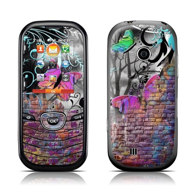 LG Cosmos 2 Skin - Butterfly Wall
