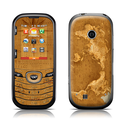 LG Cosmos 2 Skin - Upside Down Map