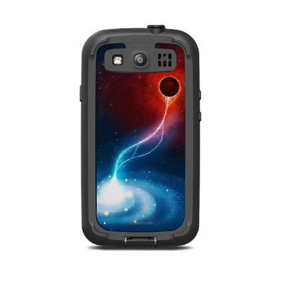 Lifeproof Galaxy S3 Nuud Case Skin - Black Hole