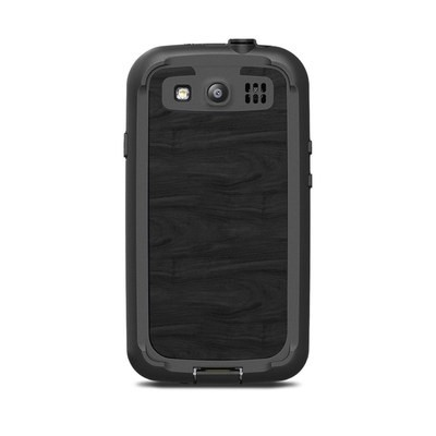 Lifeproof Galaxy S3 Nuud Case Skin - Black Woodgrain