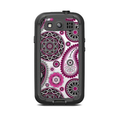 Lifeproof Galaxy S3 Nuud Case Skin - Boho Girl Paisley