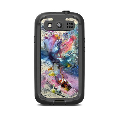 Lifeproof Galaxy S3 Nuud Case Skin - Cosmic Flower