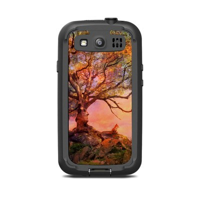 Lifeproof Galaxy S3 Nuud Case Skin - Fox Sunset