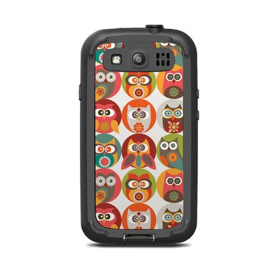 Lifeproof Galaxy S3 Nuud Case Skin - Owls Family