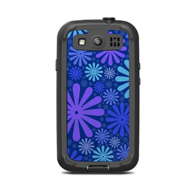 Lifeproof Galaxy S3 Nuud Case Skin - Indigo Punch