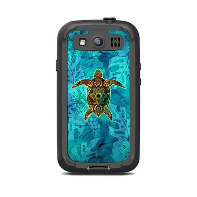 Lifeproof Galaxy S3 Nuud Case Skin - Sacred Honu