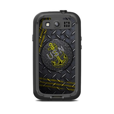 Lifeproof Galaxy S3 Nuud Case Skin - USN Diamond Plate