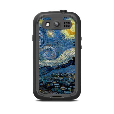 Lifeproof Galaxy S3 Nuud Case Skin - Starry Night