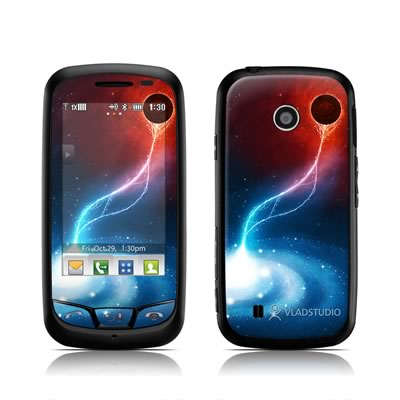 LG Cosmos Touch Skin - Black Hole