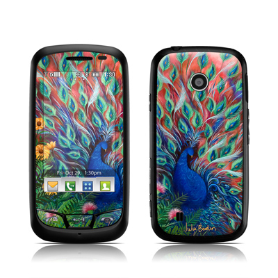 LG Cosmos Touch Skin - Coral Peacock