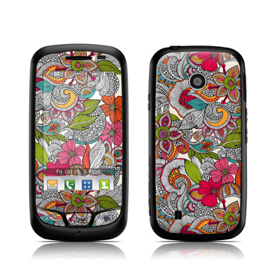 LG Cosmos Touch Skin - Doodles Color