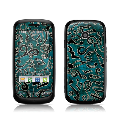 LG Cosmos Touch Skin - Music Notes