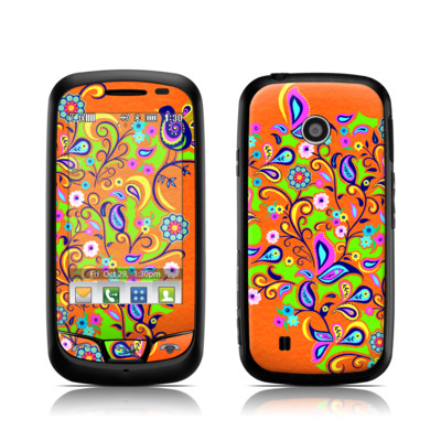 LG Cosmos Touch Skin - Orange Squirt