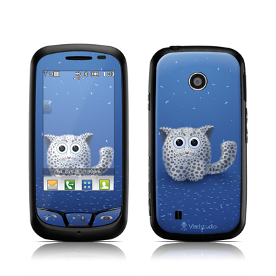 LG Cosmos Touch Skin - Snow Leopard