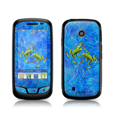 LG Cosmos Touch Skin - Tiger Frogs