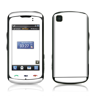 LG Encore Skin - Solid State White