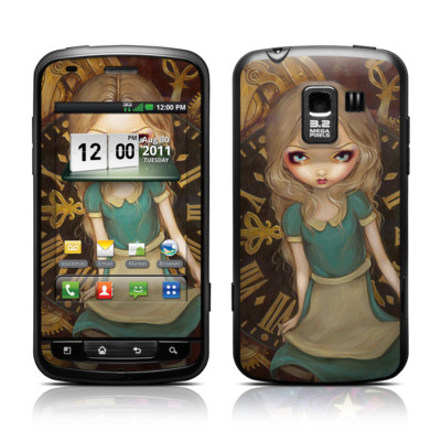 LG Enlighten Skin - Alice Clockwork