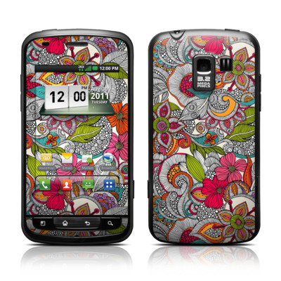 LG Enlighten Skin - Doodles Color
